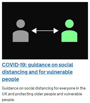 Covid-19 Guidance on Self Isolation