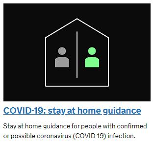Covid-19 Stay at Home Advice
