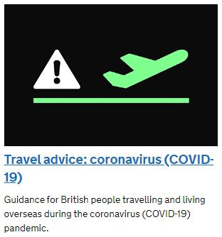 COVID-19 Travel Advice