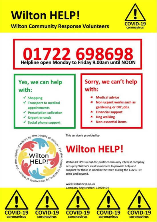 Wilton Help! now live again